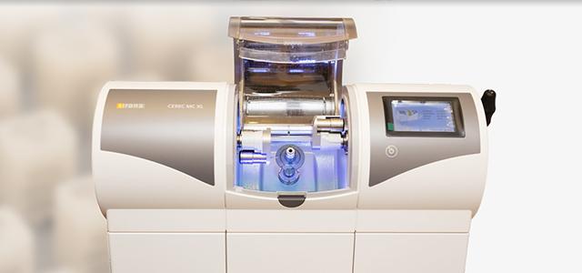 喜悅引進最新 CAD/CAM 數位全瓷系統,看診後可在診所現場製作全瓷牙冠